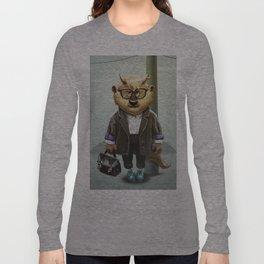 Hipster Monter Girl Long Sleeve T-shirt