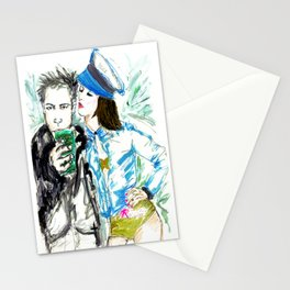 What are you drinking? Stationery Cards