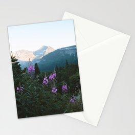 Glacier Flowers Stationery Cards