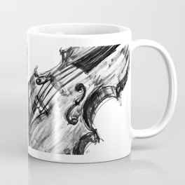 Black Violin Coffee Mug