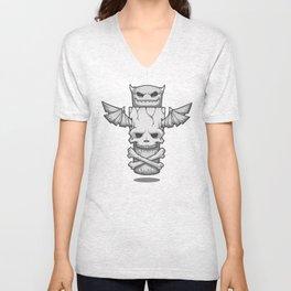 Grim Totem: A Forked Tongue Tale Unisex V-Neck