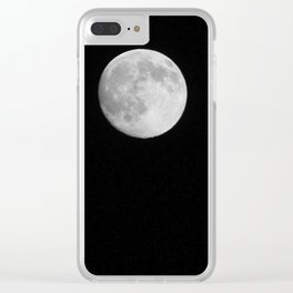 Night Watchman Clear iPhone Case