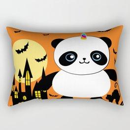 It's a Pandacorn Halloween Rectangular Pillow