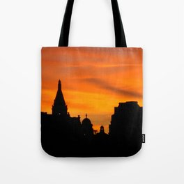 London Sunset in sillouette bywhacky Tote Bag