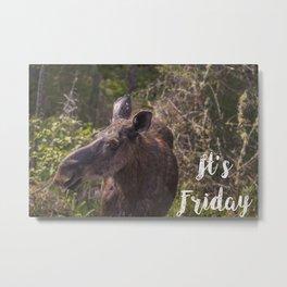 Its Friday Metal Print