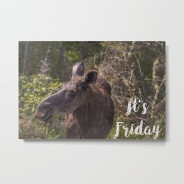 Its Friday Metal Print