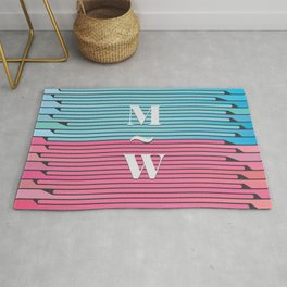 Man and Woman Creative Artwork Rug