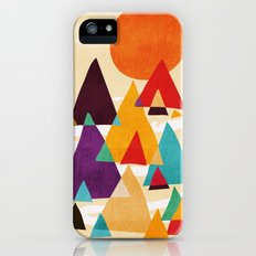 Let's visit the mountains Slim Case iPhone (5, 5s)