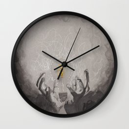 The light within 2 Wall Clock