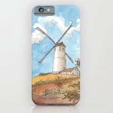 Windmill Against a Blue Sky iPhone 6s Slim Case