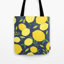 Freshly Picked Lemon Tote Bag