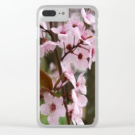 Tenderness Clear iPhone Case