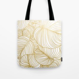 Wilderness Gold Tote Bag