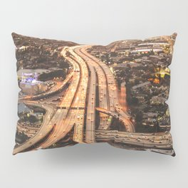junction in los angeles Pillow Sham