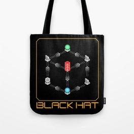 Deus Ex - Black Hat Tote Bag
