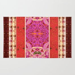 Red Delight - by Fanitsa Petrou Rug