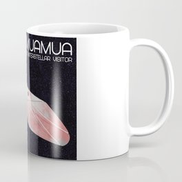 Oumuamua - the solar system's first known interstellar visitor Coffee Mug