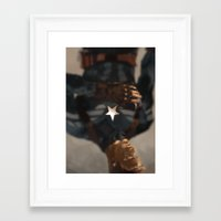captain Framed Art Prints featuring Captain by MMCoconut