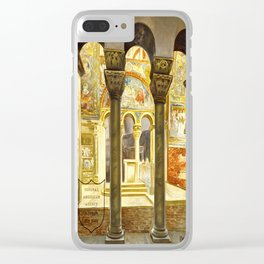 Vintage Ravenna Italy Travel Clear iPhone Case