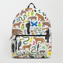 Jungle/Exotic Animals Backpack