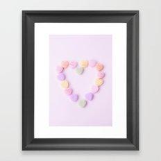 Conversation of the Heart  Framed Art Print