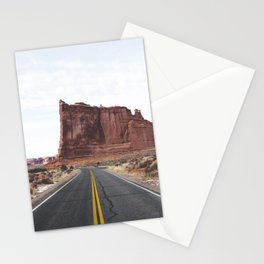 Arches National Park Road Stationery Cards
