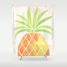 Have a half a pinya! Shower Curtain