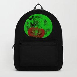 Full Halloween Moon Backpack