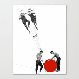 US AND THEM >dedicated to László Moholy-Nagy / 038 Canvas Print