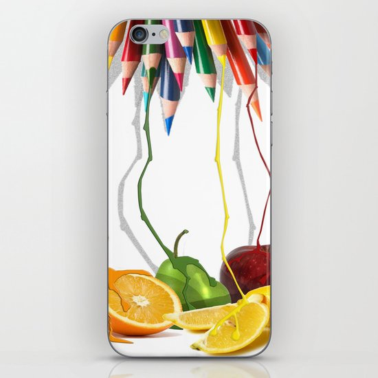 Painting Nature iPhone & iPod Skin