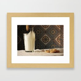 Sweet metorite. Framed Art Print