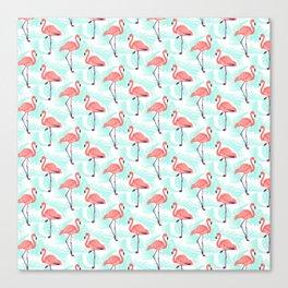 Flamingo Pattern 1 Canvas Print