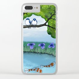 the pond Clear iPhone Case
