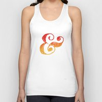 ampersand Tank Tops featuring Ampersand by TheCore