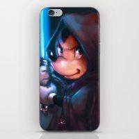 jedi iPhone & iPod Skins featuring Jedi Mickey by markclarkii