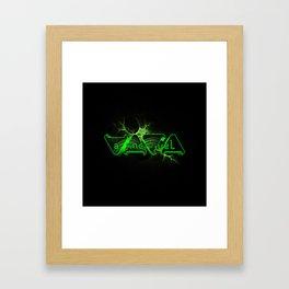 """VACA - MP: """"A Incrível Vaca"""" Framed Art Print"""
