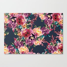 Secret Blooms Canvas Print