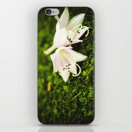 Plantain Lilies iPhone Skin