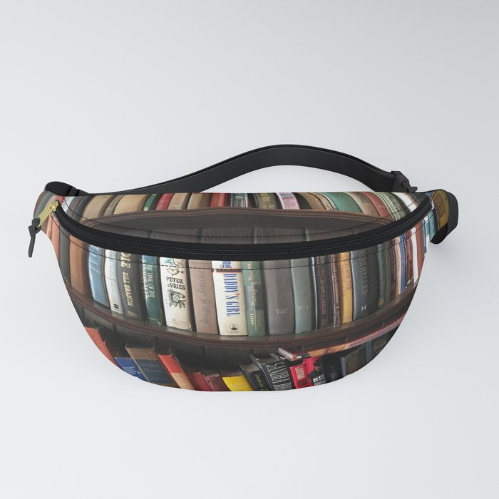 The Bookshelf in the Library Fanny Pack