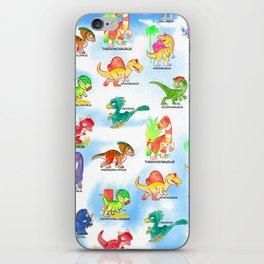 Chibidinos Watercolors Summer 2018 iPhone Skin