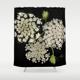 Queen Ann's Lace, Scenography Shower Curtain