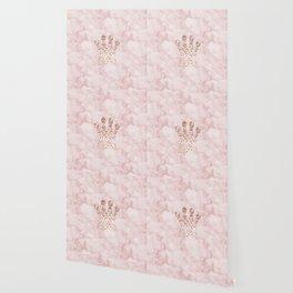 Rose gold - crown Wallpaper