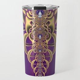 Fractal Abstract 85 Travel Mug