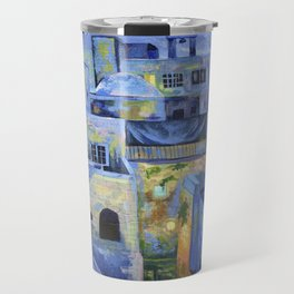Jerusalem at Night Travel Mug