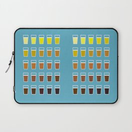 The Colors of Beer Laptop Sleeve