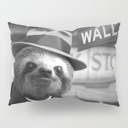 The Sloth of Wall Street Pillow Sham