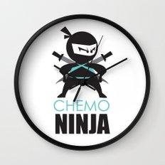 Chemo Ninja Wall Clock