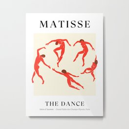 The Dance | Henri Matisse - La Danse Metal Print
