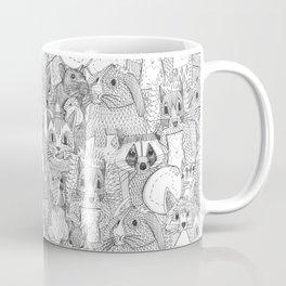 crazy cross stitch critters Coffee Mug