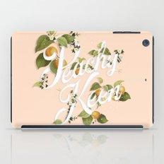 Peachy Keen : Peach iPad Case